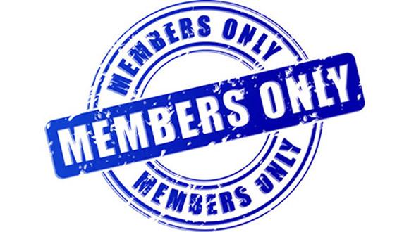 Member Only Banner